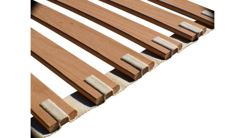 Roll-Lattenrost mit Federleisten | Detailaufnahme