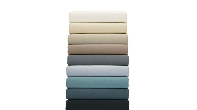 Jersey Spannbezug schwarz, grau, beige, weiß