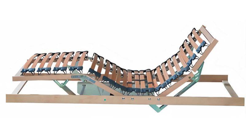 Natur-Lattenrost Orthoflex mit Motorverstellung