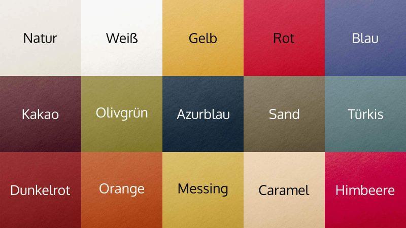 Spannbettlaken Edel-Biber Farbauswahl - rot, blau, gelb und mehr